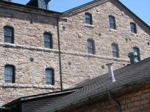 Distillery building - close shot